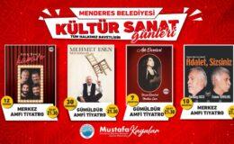 İzmir Menderes kültür sanata doyacak