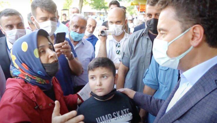 Kahramanmaraş'ta Babacan'a 'genç işsizliği' isyanı