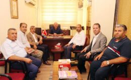 Kilis'te AK Parti'den esnaf odalarına ziyaret