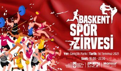 Başkent Spor Zirvesi'ne Ev Sahipliği Yapacak