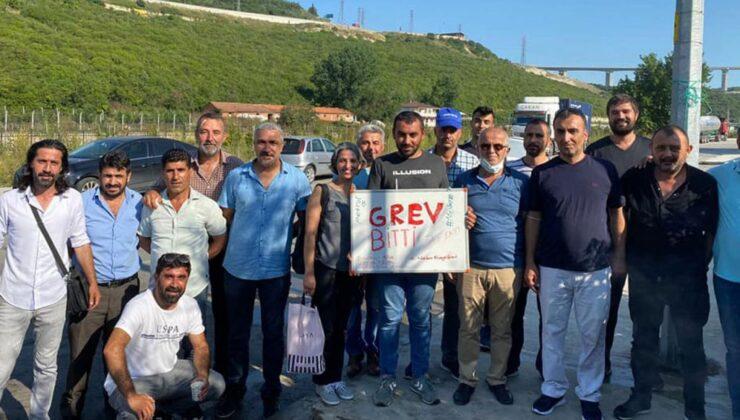 Kocaeli Gebze'de dayanışmanın zaferi
