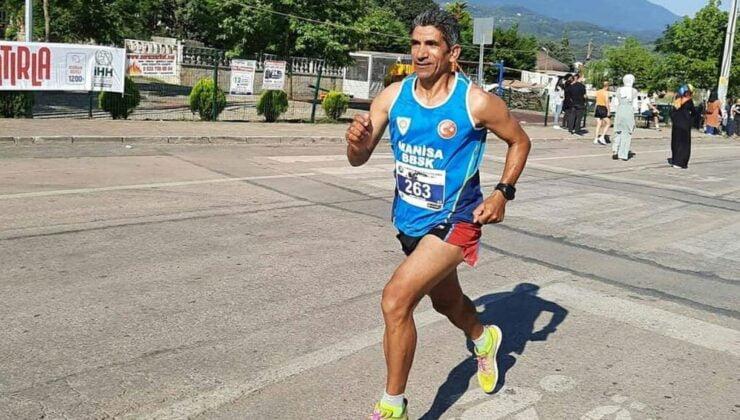 Manisa'nın şampiyon atleti Bursa'da ikinci oldu