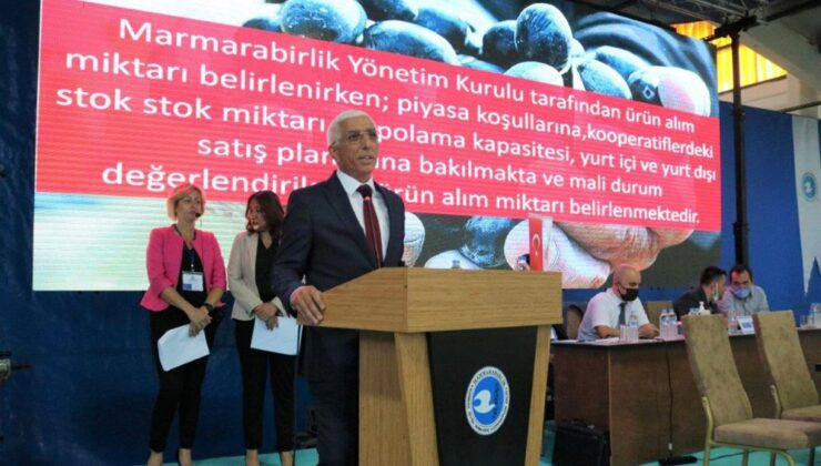 Marmarabirlik'te 2022 hedefi 1 milyar lira ciro