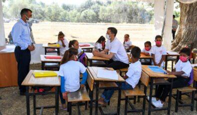 MEB, 'Mobil Okul' ile tarlalarda