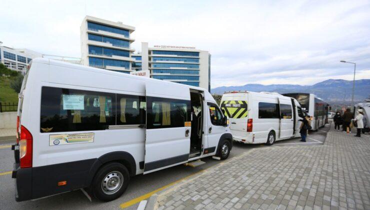 Muğla'da 173 bine yakın sağlık çalışanı ücretsiz taşındı