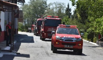 Muğla'dan Manavgat'a itfaiye desteği