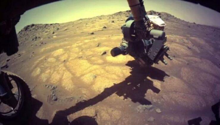 Perseverance'den Mars'a ilk delik