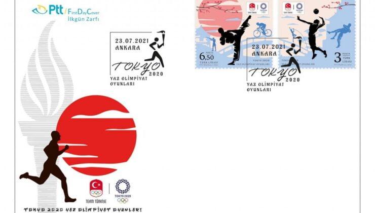 PTT'den Tokyo 2020 için özel pul ve zarf