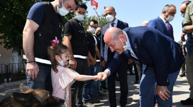 Süleyman Soylu'dan Kilis mesaisi