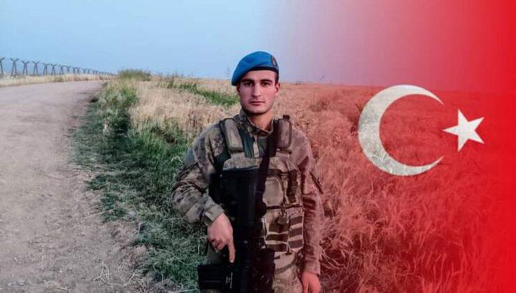 Suriye sınırında bir askerimiz şehit oldu