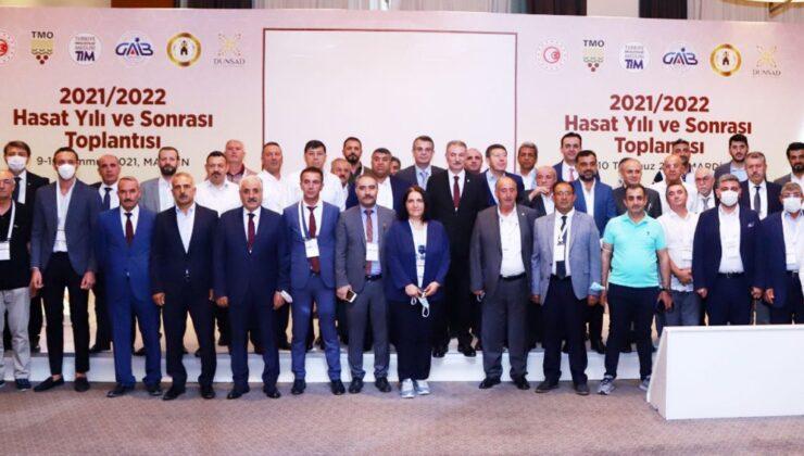 Un sanayicileri Mardin'de hasat sonrasını değerlendirdi