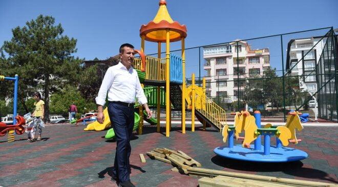 Altındağ'a 12 yeni park