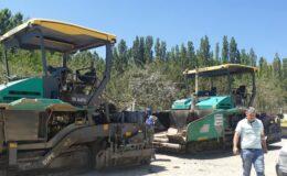 Elecik ve Haydar'da asfalt çalışmaları başladı
