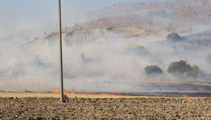 Akyurt Karacakaya Mahallesi'nde yangın