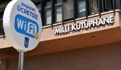 Ankara'da 35 meydan ücretsiz internete kavuştu