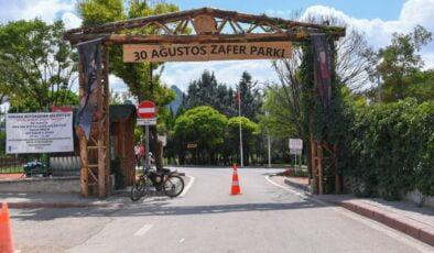 Başkent'in yeşil cenneti: 30 Ağustos Zafer Parkı