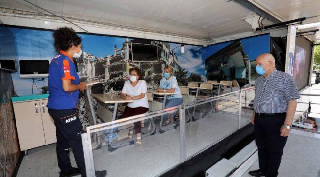 Yenimahalle saniye saniye depremi yaşadı