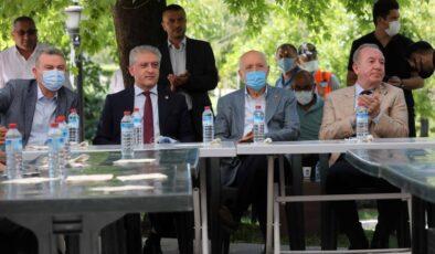 Başkan Yaşar Çorumlularla bir araya geldi