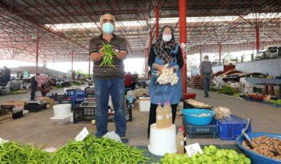 Yenimahalle'de organik pazarlar kuruldu