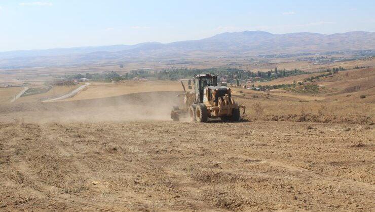 Büyükşehir Akyurt'ta yeni mezarlık alanı için çalışmalara başladı