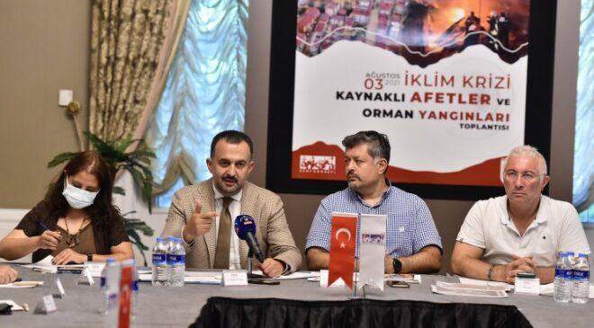AKK Başkent'te 'İklim Değişikliği ve Çevre Meclisi' kuracak