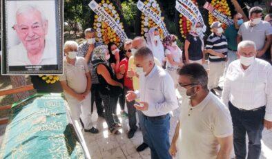 Aydın'da eski başkan son yolculuğuna uğurlandı