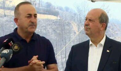 """Bakan Çavuşoğlu: """"Yıkılan evlerin yerine yenileri yapılacak"""""""