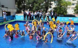 Bursa Orhangazi'de havuz heyecanı