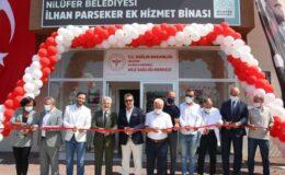 Bursa'da Nilüfer Belediyesi'nden Demirci Mahallesi'nde sağlık hizmet binası