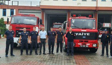 Kocaeli İtfaiyesi, Antalya'ya ikinci ekibi yolladı