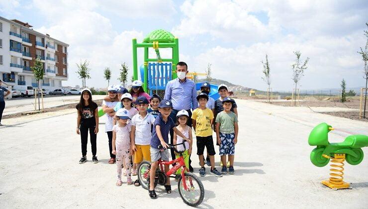 Altındağ'da 30 ayda 42 yeni park