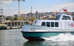 Yerli ve milli 'Deniz Taksi' suya indi