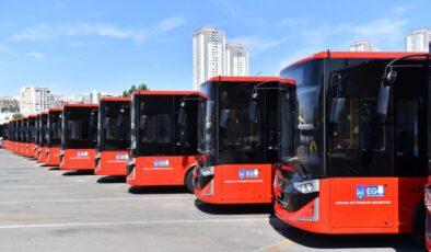 19 yeni otobüs Başkent yollarında