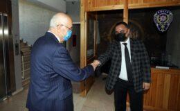 Başkan Yaşar'dan Kaymakam Halim'e ziyaret