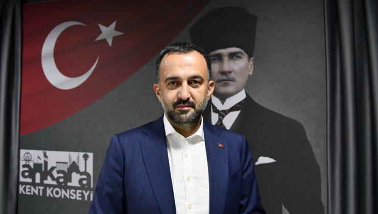 Ankara Kent Konseyi Başkanı Yılmaz'dan 100. Yıl Teşekkürü
