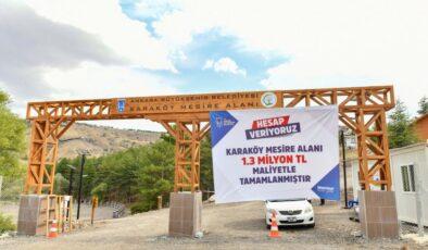 Karaköy Mesire Alanı hizmete açıldı