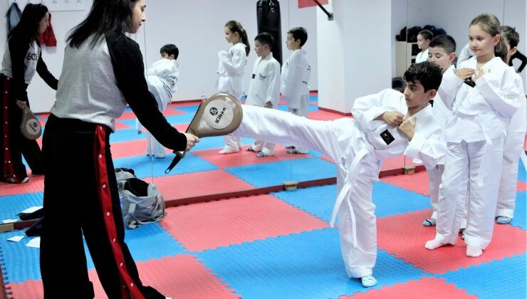 Yenimahalle Spor Akademisi'nde eğitimler tam gaz