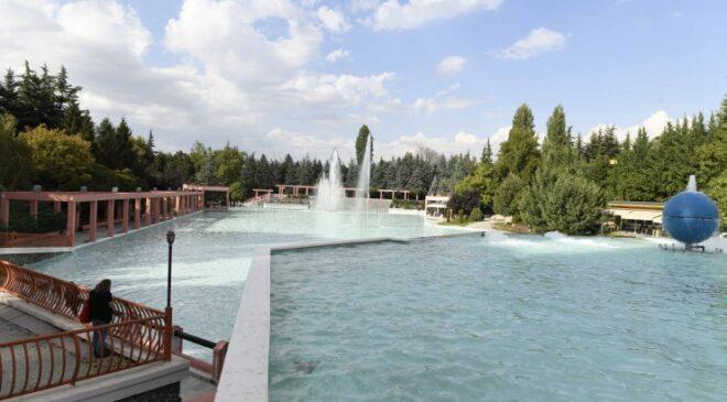 Dikmen Vadisi'ndeki havuzlar yıllar sonra yeniden faaliyette