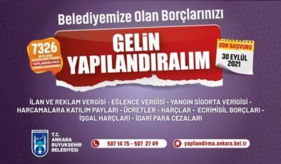Büyükşehir'de de borç yapılandırma süresi uzatıldı