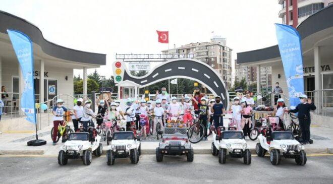 Avrupa Hareketlilik Haftası'nda minikler pedal çevirdi
