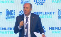 """İnce: """"Yüzde 50+1 ile Türkiye'yi yönetmeye talibiz"""""""