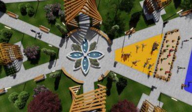 Kayseri Kocasinan'dan fonksiyonel park