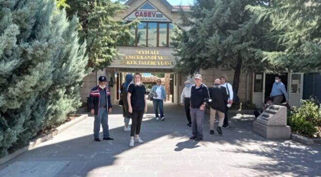 Keçiören'deki huzurevi sakinleri için Çamlıdere gezisi