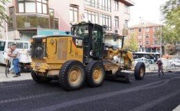 Keçiören'e 360 bin ton asfalt serildi