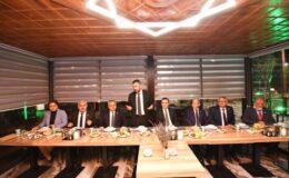 Başkan Ertuğrul Çetin'den Muhtarlar Onuruna Endemik Vadi'de Yemek