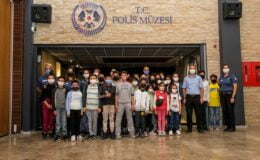 Altındağlı çocuklar Polis Müzesi'nde
