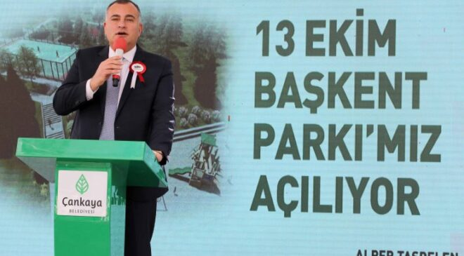 Ankara'nın Başkent oluşunun 98. yılına armağan