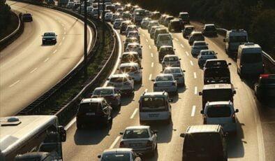 25 milyon 22 bin 960 araç trafikte!