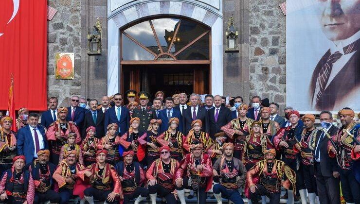 Ankara'nın Başkent oluşunun 98. yılı coşkuyla kutlandı