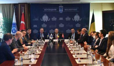 Ankara Büyükşehir, Avrupa Birliği'nin Başkenti Brüksel ile iş birliği antlaşması imzaladı